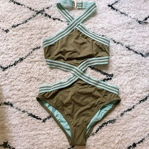 Vince Camuto One Piece Swimsuit NWT